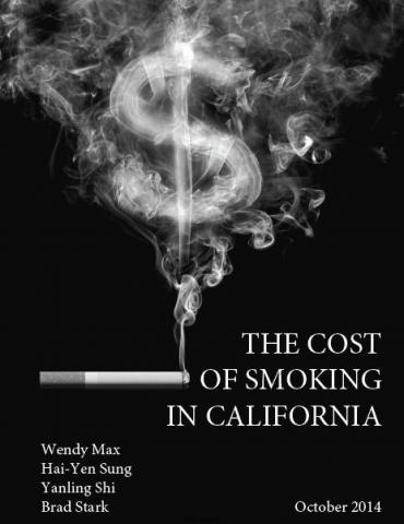 Economic impact of smoking report cover